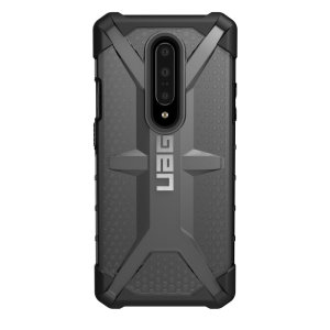 The Urban Armour Gear Plasma for the OnePlus 7 Pro 5G features a protective TPU case in ash grey and black with a brushed metal UAG logo insert for an amazing design and excellent protection from scrapes, bumps and scratches.