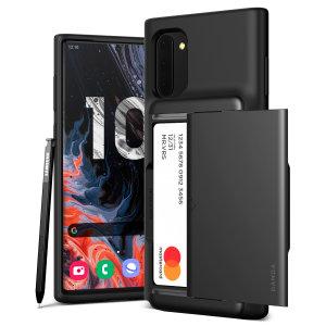 VRS Design Damda Glide Samsung Galaxy Note 10 Case - Zilver