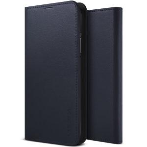 Schützen Sie Ihr Note 10 mit diesem präzise designten VRS Design Diary-Etui. Diese Tasche aus echtem Leder bietet Schutz, Sicherheit und ein raffiniertes Aussehen, damit Ihr Telefon für jede Gelegenheit gerüstet ist.