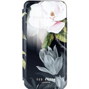 Form-fitting and bulk-free, the Opal case for iPhone 11 Pro Max from Ted Baker sports an ethereal, otherworldly floral aesthetic while also offering superlative protection for your device from drops, scrapes and other damage.