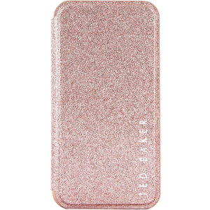 Form-fitting and bulk-free, the Glitsie case for iPhone 11 from Ted Baker sports an eye-catching yet sophisticated glitter appearance and feel while also offering superlative protection for your device from drops, scrapes and other damage.