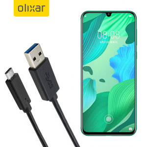 Make sure your Huawei Nova 5 is always fully charged and synced with this compatible USB 3.1 Type-C Male To USB 3.0 Male Cable. You can use this cable with a USB wall charger or through your desktop or laptop.