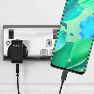 Charge your Huawei Nova 5 and any other USB device quickly and conveniently with this compatible 2.5A high power USB-C UK charging kit. Featuring a UK wall adapter and a 1m USB-C cable.