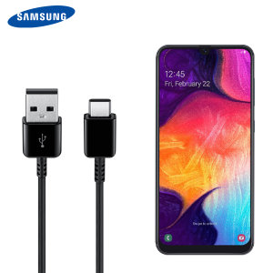 Perfect for charging your device and syncing files, this official 1.5m retail packed Samsung Galaxy A50 USB-C to USB-A cable provides blistering charge and transfer speeds and also supports adaptive fast charging.