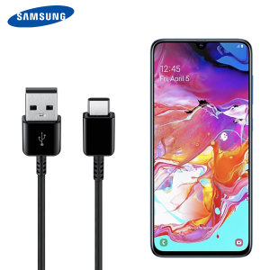 Perfect for charging your device and syncing files, this official 1.5m retail packed Samsung Galaxy A70 USB-C to USB-A cable provides blistering charge and transfer speeds and also supports adaptive fast charging.