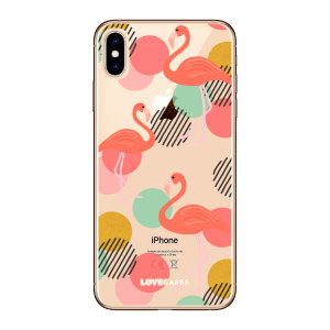 Give your iPhone XS a cute new look with this Flamingo design phone case from LoveCases. Cute but protective, the ultra-thin case provides slim fitting and durable protection against life's little accidents