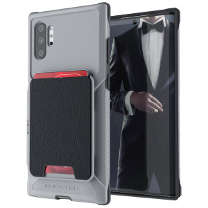 The Exec 4 premium wallet case in Grey provides your Samsung Galaxy Note 10 Plus 5G with fantastic protection. Also featuring storage slots for your credit cards, ID and cash.