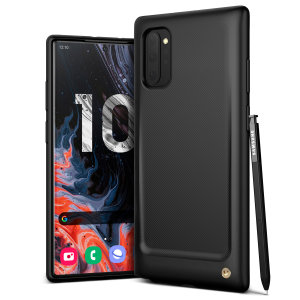 Protect your Samsung Galaxy Note 10 5G Plus with this precisely designed and durable case from VRS Design. Made with sturdy, yet flexible premium material, the polycarbonate hardshell features a slim design with precise cut-outs for your phone's ports.