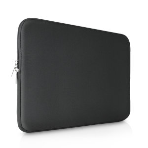 "The black Olixar universal neoprene sleeve is a slim, form-fitting and extremely durable case for your 11"" laptop and tablet. With a unique, sleek and stylish design."