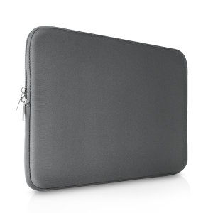 "The grey Olixar universal neoprene sleeve is a slim, form-fitting and extremely durable case for your 11""laptop and tablet. With a unique, sleek and stylish design."