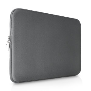 "The grey Olixar universal neoprene sleeve is a slim, form-fitting and extremely durable case for your 13""laptop and tablet. With a unique, sleek and stylish design."