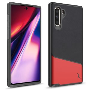The sleek division series for the Samsung Galaxy Note 10. The Black and Red finish gives you protection for your phone in style. This case is made for pure luxury and style.