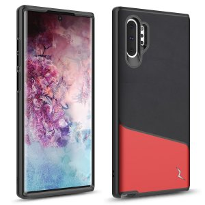 The sleek division series for the Samsung Galaxy Note 10 Plus. The Black and Red finish gives you protection for your phone in style. This case is made for pure luxury and style.