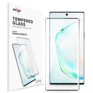 Protect all of your Samsung Galaxy Note 10's beautiful display with an edge to edge tempered glass screen protector from Zizo. With superb clarity and a durable construction this is the perfect way to keep your screen looking good.