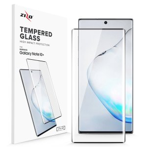 Protect all of your Samsung Galaxy Note 10 Plus's beautiful display with an edge to edge tempered glass screen protector from Zizo. With superb clarity and a durable construction this is the perfect way to keep your screen looking good.