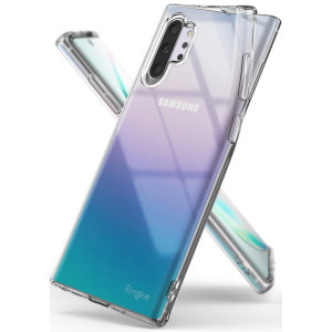 Protect the back and sides of your Samsung Galaxy Note 10 Plus 5G with this incredibly durable and clear backed Air Case by Ringke.