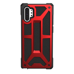 The UAG Monarch in Crimson for the Samsung Galaxy Note 10 Plus 5G is quite possibly the king of protective cases. With 5 layers of premium protection and moulded from the finest materials, your Galaxy Note 10 Plus is safe, secure and remains stylish.