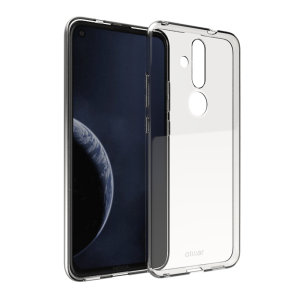 Custom moulded for the Nokia 8.1 Plus, this clear Olixar FlexiShield case provides a slim fitting stylish design and durable protection against damage, keeping your device looking great at all times.
