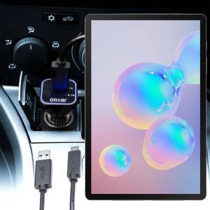 Olixar High Power Samsung Galaxy Tab S6 Car Charger