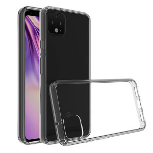 Custom moulded for the Google Pixel 4 XL, this clear Olixar ExoShield tough case provides a slim fitting stylish design and reinforced corner shock protection against damage, keeping your device looking great at all times.