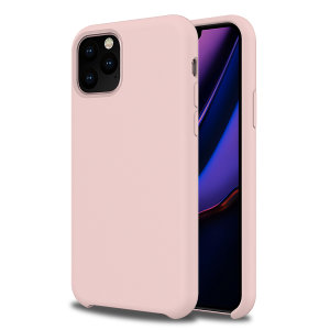 Custom moulded for the iPhone 11 Pro, this Pastel Pink soft silicone case from Olixar provides excellent protection against damage as well as a slimline fit for added convenience.
