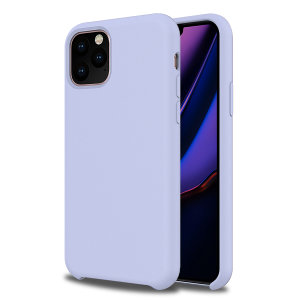 Custom moulded for the iPhone 11 Pro, this lilac soft silicone case from Olixar provides excellent protection against damage as well as a slimline fit for added convenience.