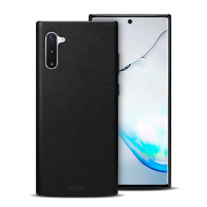 Crafted from premium genuine leather, this exquisite black case from Olixar for the Samsung Galaxy Note 10 provides stunning style and prestigious protection for your phone in a slim and sleek package.