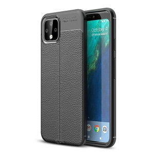 Olixar Attache Google Pixel 4 Leather-Style Case - Black