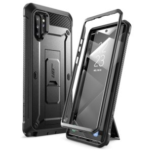 Shield your Samsung Galaxy Note 10 Plus 5G from drops, scratches, scrapes and other damage with the UB Pro Rugged case from i-Blason in Black. This case offers superb military grade protection while adding virtually no extra bulk or weight to your device!