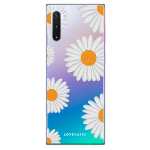 Give your Samsung Note 10 a refresh for Summer with this daisy case from LoveCases. Cute but protective, the ultrathin case provides slim fitting and durable protection against life's little accidents.