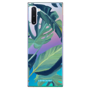 Give your Samsung Galaxy Note 10 a summer refresh with this tropical palm leaf case from LoveCases. Cute but protective, the ultrathin case provides slim fitting and durable protection against life's little accidents.