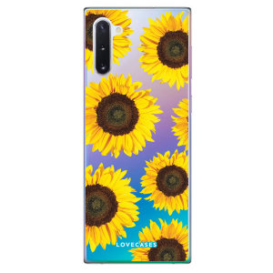 Give your Samsung Galaxy Note 10 a playful refresh with this sunflower design phone case from LoveCases. Cute but protective, the ultrathin case provides slim fitting and durable protection against life's little accidents.