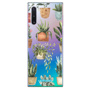 Give your Samsung Galaxy Note 10 a down-to-earth new look with this plant design phone case from LoveCases. Cute but protective, the ultra-thin case provides slim fitting and durable protection against life's little accidents.