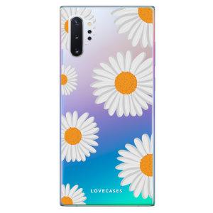 Donnez un style rafraîchissant à votre Samsung Galaxy Note 10 Plus avec la coque LoveCases Marguerites ultra-mince. Minimaliste et parfaitement ajustée, elle assure une protection optimale à votre smartphone au quotidien tout en lui offrant un style unique sur fond transparent.