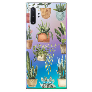Give your Samsung Galaxy Note 10 Plus a down-to-earth new look with this plant design phone case from LoveCases. Cute but protective, the ultra-thin case provides slim fitting and durable protection against life's little accidents.