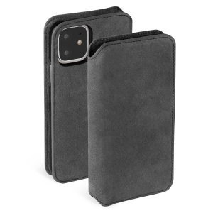 Krusell's Broby Slim Wallet case in Stone colour combines Nordic chic with Krusell's values of sustainable manufacturing for the iPhone 11 owner who seeks 360° protection with extra storage for cash and cards.