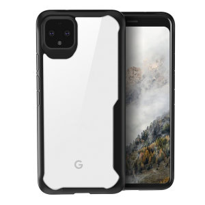 Olixar NovaShield Google Pixel 4 XL Bumper Case - Black