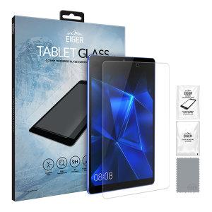 Fabricado por Eiger, este protector de pantalla de cristal templado añade la protección perfecta para la pantalla de su Huawei MediaPad M6 8.4.