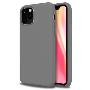 Custom moulded for the iPhone 11 Pro Max, this grey soft silicone case from Olixar provides excellent protection against damage as well as a slimline fit for added convenience.