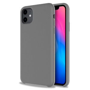 Custom moulded for the iPhone 11, this grey soft silicone case from Olixar provides excellent protection against damage as well as a slimline fit for added convenience.