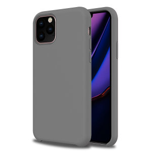 Olixar Soft Silicone iPhone 11 Pro Case - Grey