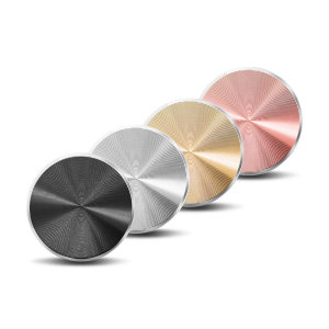 For use with magnetic car holders and mounts, this four pack of metal plates match the colour of your phone perfectly. Featuring black, silver, gold and rose gold plates, this pack is ideal to replace any lost magnetic plates.