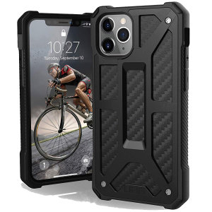 Coque iPhone 11 Pro UAG Monarch – Noir carbone