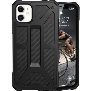 The Urban Armour Gear Monarch in carbon fibre for the iPhone 11 is quite possibly the king of protective cases. With 5 layers of premium protection and the finest materials, your iPhone 11R is safe, secure and in some style too.
