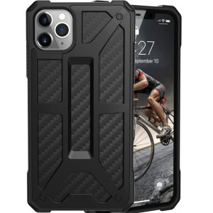 The Urban Armour Gear Monarch in carbon fibre for the iPhone 11 Pro Max is quite possibly the king of protective cases. With 5 layers of premium protection and the finest materials, your iPhone 11 Pro Max is safe, secure and in some style too.