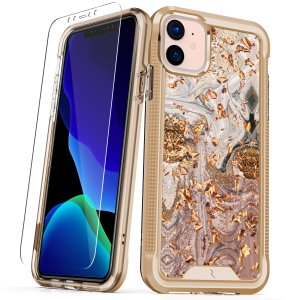 The Protective Ion series case for the iPhone 11. The Gold finish gives you protection for your phone in style. This case is made for pure luxury and style.