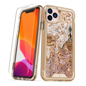 The Protective Ion series case for the iPhone 11 Pro Max. The Gold finish gives you protection for your phone in style. This case is made for pure luxury and style.