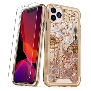 The Protective Ion series case for the iPhone 11 Pro. The Gold finish gives you protection for your phone in style. This case is made for pure luxury and style.