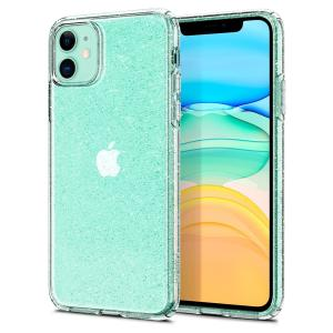 Durable and lightweight, the Spigen Liquid Crystal Glitter series for the iPhone 11 offers premium protection in a slim, form-fitting, stylish package with a sparkling Cystal Quartz pattern to accentuate your phone's own dynamic beauty.