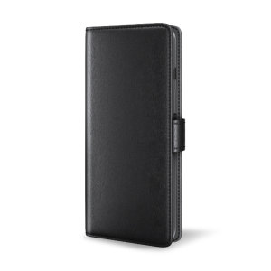 All the benefits of a wallet case but far more streamlined. The Olixar Genuine Leather case in black is the perfect partner for the iPhone 11 Pro Max owner on the move. What's more, this case transforms into a handy stand to view media.